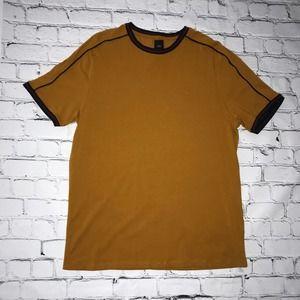 River Island Mustard Men Shirt